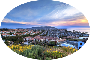 gorgeous dana point orange county view of homes and beach